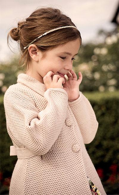 Tapados para nena invierno 2017. Moda invierno 2017.