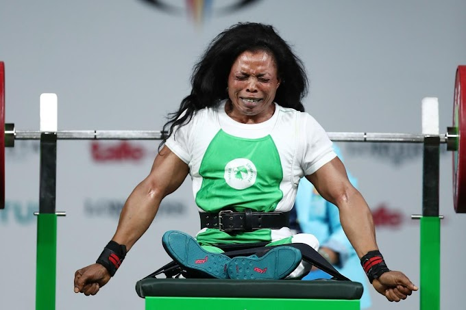 Nigerian paralympic gold medalist, Esther Oyema gets 4-year ban for violating anti-doping rules