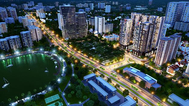 Phối cảnh dự án Việt Đức Complex