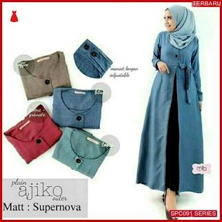 SCP091A40 Ajiko Outer Fashion Muslim Dress Muslim Wanita | BMGShop