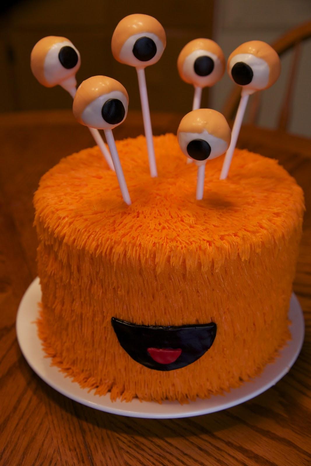 Easy Halloween Cake Pops