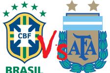 SKOR PERTANDINGAN BRASIL Vs ARGENTINA