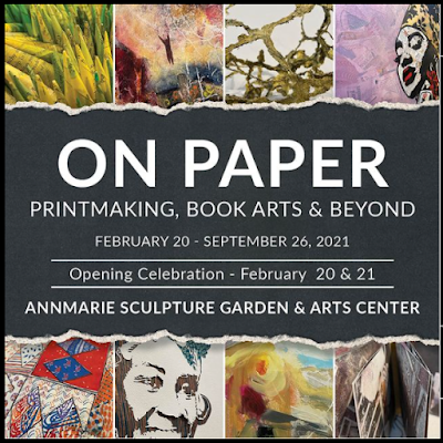 """On Paper"" show at Annmarie Garden"