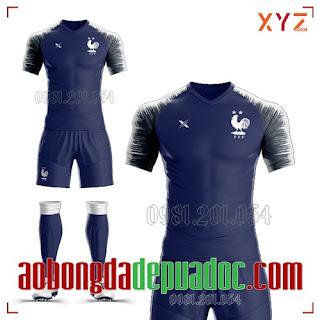Trọn Bộ Áo Bóng Đá Đội Tuyển Pháp 2020