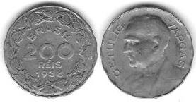 200 Réis, 1938