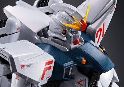 MG 1/100 Gundam F91 (Titanium Finish)