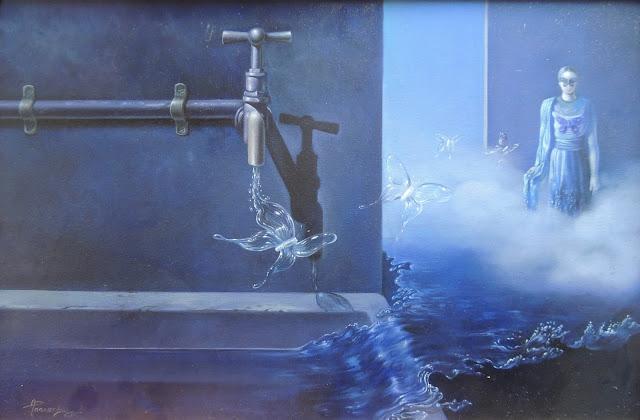 Alberto Pancorbo arte moderno hiperrealista surrealista aqua mágico
