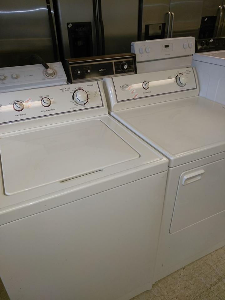 Crosley Washer Dryer Set 300