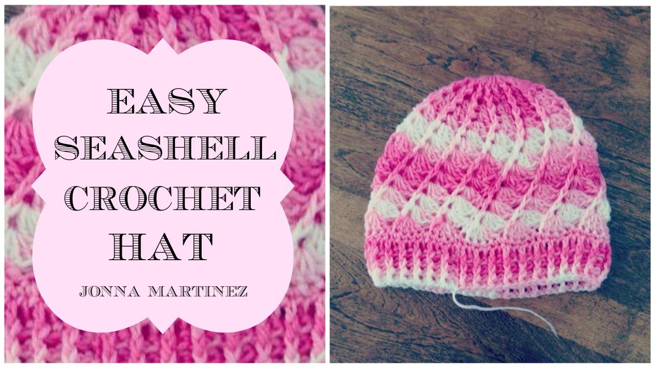 Crochet Seashell Hat Jonna Martinez