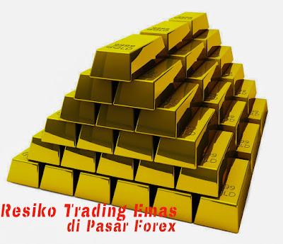 Resiko trading emas XAUUSD di pasar forex