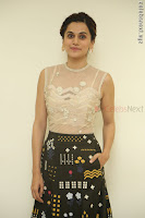 Taapsee Pannu in transparent top at Anando hma theatrical trailer launch ~  Exclusive 008.JPG