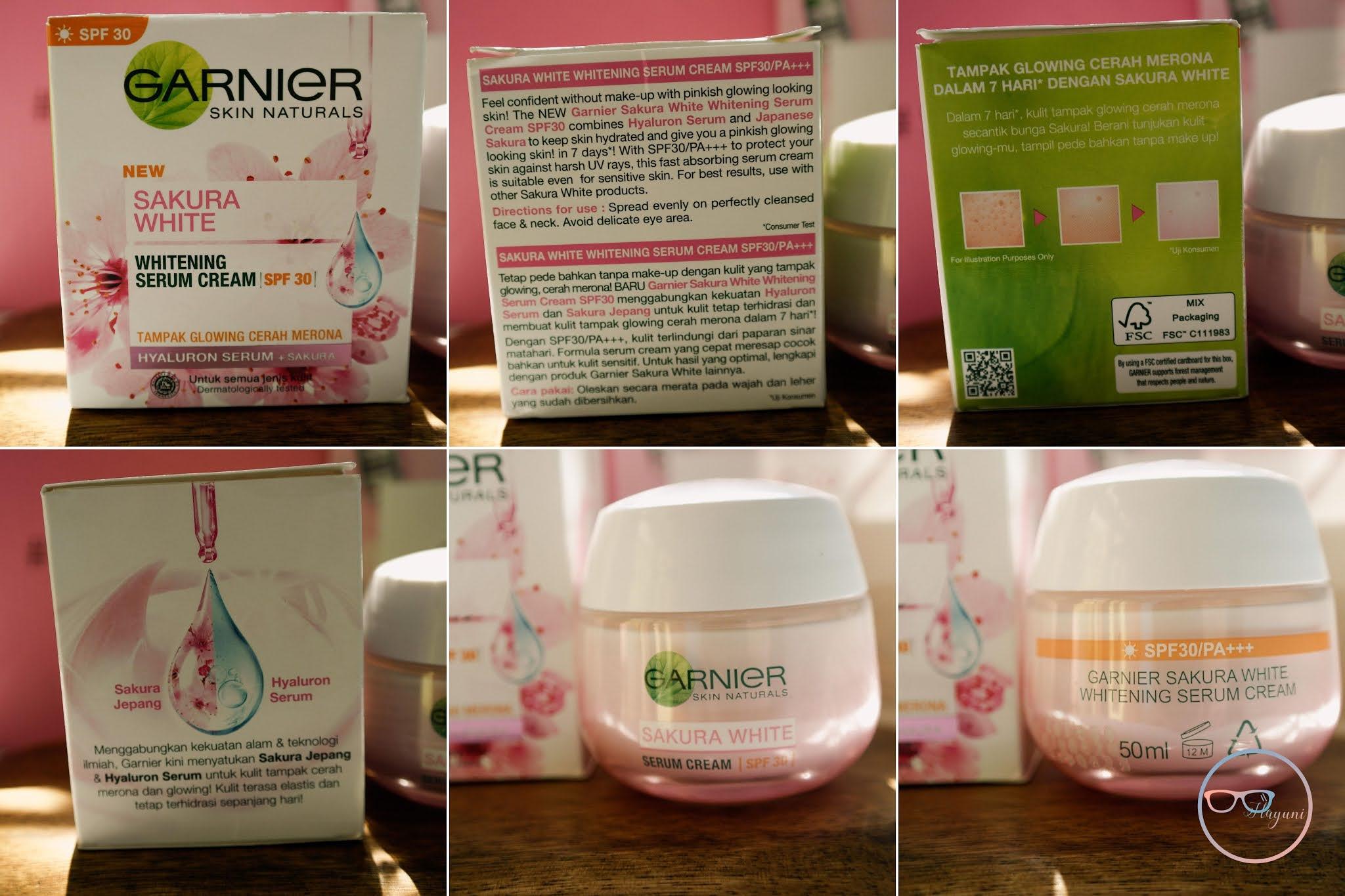 review-garnier-sakura-white-serum-cream