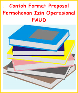 Contoh Proposal Permohonan Izin Operasional PAUD