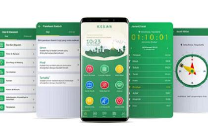 Review Aplikasi: KESAN (Kedaulatan Santri)