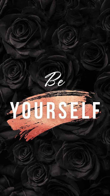 Be yourself | wallpapers for iPhone and mobile phones