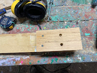 Drilled holes