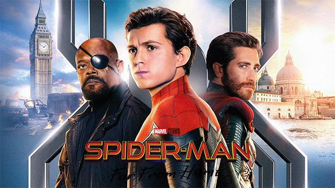 Spider-Man: Lejos de casa (2019) HDRip 720p Latino-Ingles
