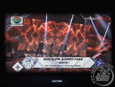"""Duo Alfin duet dengan Ammy Fara lagu """"Santai"""""""