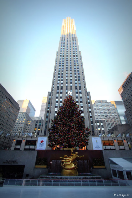 Rockefeller center (Top of the rock)-New York