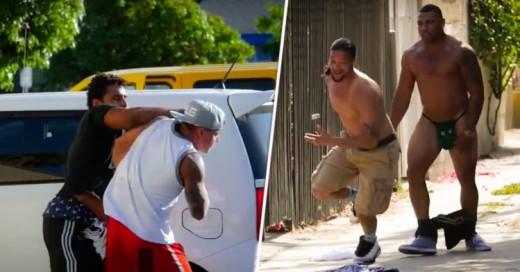 Encuentran manera de ganar peleas en barrios peligrosos