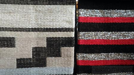 Novidade no Celeiro: tapetes em sisal e algodão listrado e com estampa geométrica