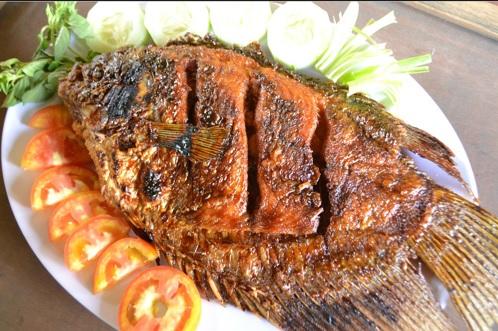 Cara Membuat Ikan Gurame Bakar