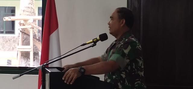 Ratusan Personel Kodim 1407/Bone Ikuti Arahan Pangdam XIV/Hsn