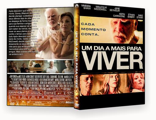CAPA DVD – Um Dia A Mais Para Viver DVD-R