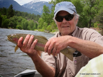 Fly Fishing the Bitterroot on June 23