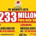 Leidsa acumula 233 millones: El premio más grande de la historia en RD