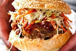 Asian Burger with Hoisin Ketchup