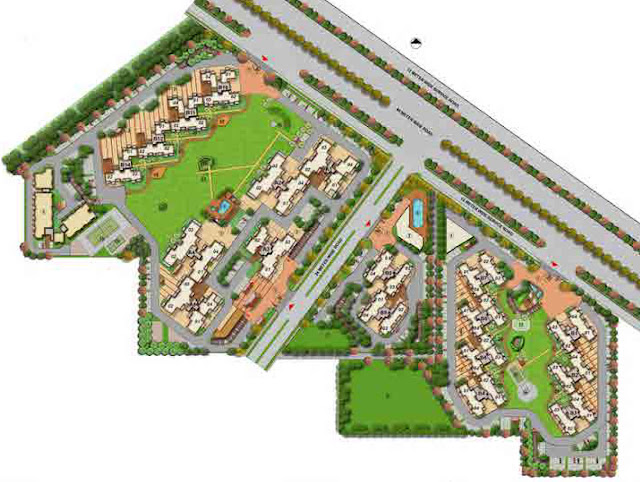 Master Plan - M3M Woodshire