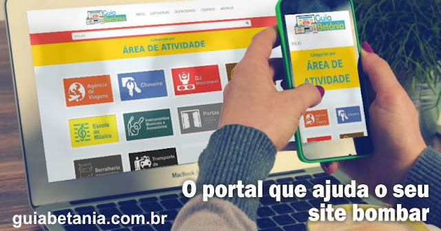 Portal de anúncio Guia Betânia