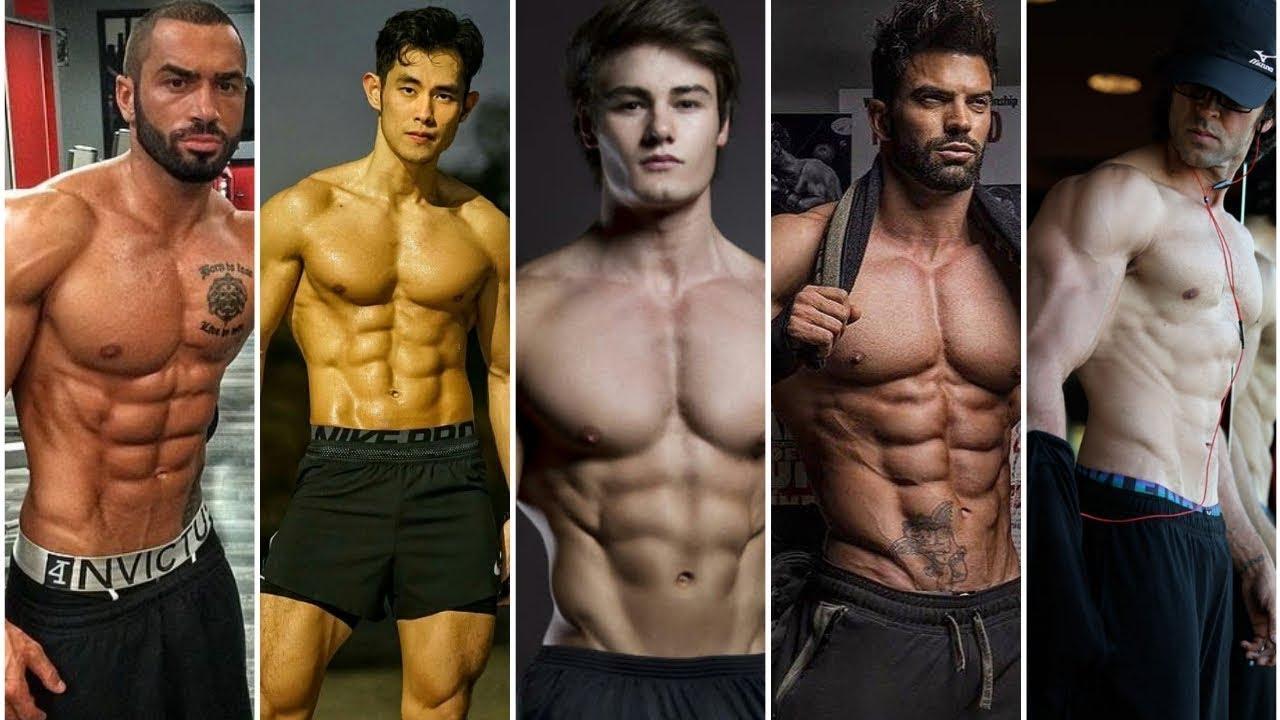 Top 10 male fitness models list