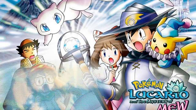 Pokémon: Lucario y el misterio de Mew (2.9GB) (HDL) (Latino) (Mega)