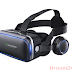 30% OFF  VR Headset for Cellphone, Adjustable 3D VR Glasses with Headphone for Mobile Games and Movies, Compatible 4.7-6 inch Screen iPhone & Android, Works with Google Cardboard, Black