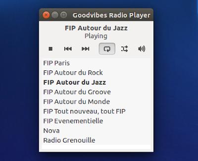 Goodvibes Radio Player