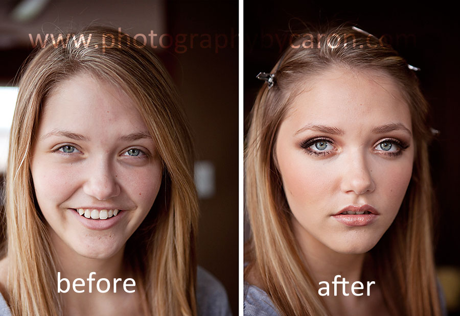 Photography By Caron Before And Afterthe Magic Of Make Up
