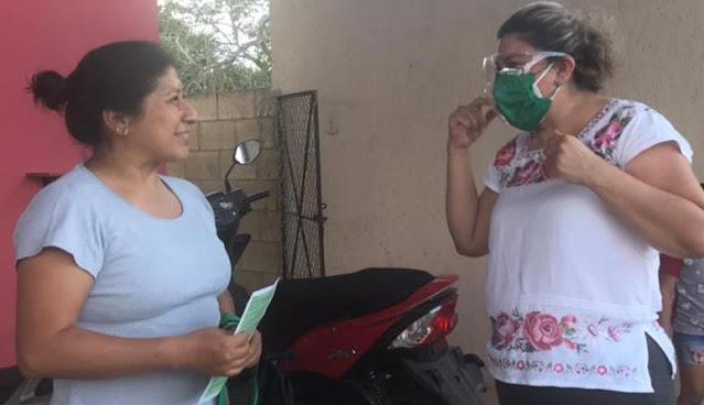 Mildred Raquel Durán Segovia, candidata mayahablante del PVEM por el Distrito XIII local