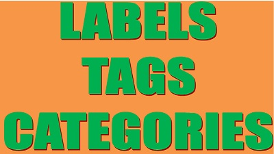 labels, tags,categories, letsupdate, learn about labels tags categories,bloggers help
