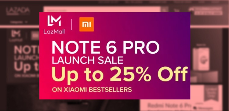 Xiaomi Holds Redmi Note 6 Pro Launch Sale at Lazada