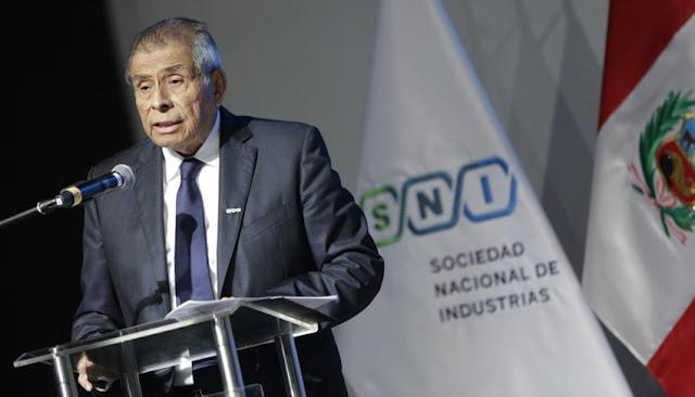 Ricardo Márquez presidente de la Sociedad Nacional de Industrias
