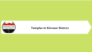 Temples In Kinnaur District