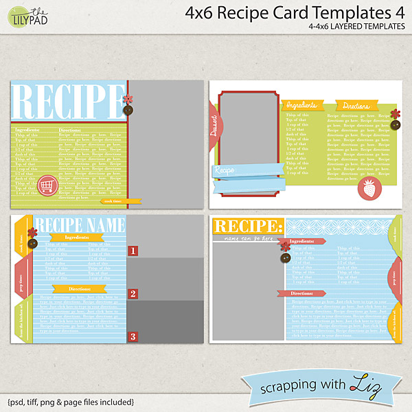 http://the-lilypad.com/store/4x6-Recipe-Card-4-Digital-Scrapbook-Templates.html
