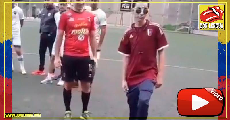 Caracas FC se llevó a Rufo Chacón a conocer su parque deportivo