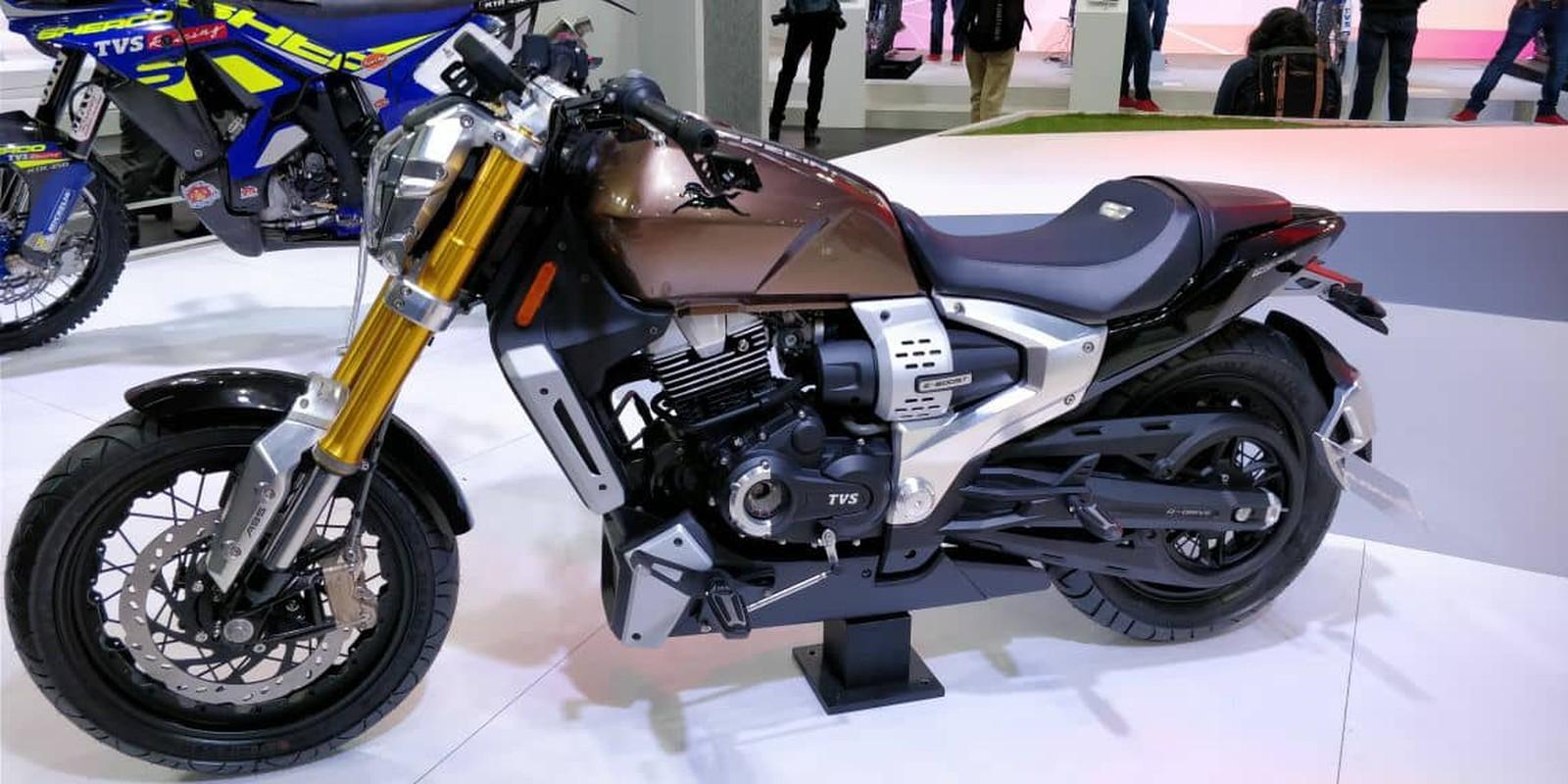 3a1dfda4b40 A indiana TVS (conhecida no Brasil por ter fornecido a moto Apache para a  Dafra) apresentou