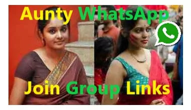 Aunty whatsapp join group links