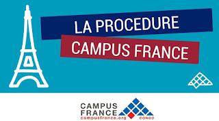 Étudier en France: Les étapes de la procédure Campus France Cameroun