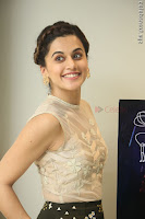 Taapsee Pannu in transparent top at Anando hma theatrical trailer launch ~  Exclusive 044.JPG