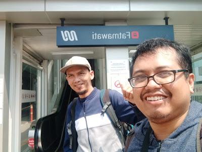 pintu masuk stasiun MRT Fatmawati